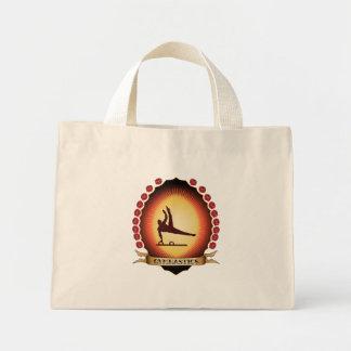 Gymnastics Mandorla Canvas Bag