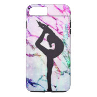 Gymnastics Marble Apple iPhone 8 Plus 7 Plus Case