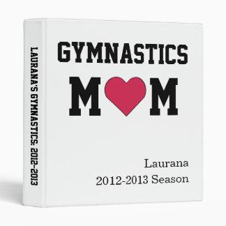 Gymnastics Mom 3 Ring Binders