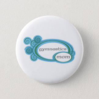 Gymnastics Mom Button
