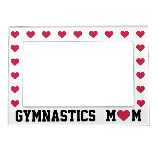 Gymnastics Mom Magnetic Frame