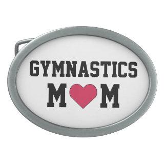 Gymnastics Mom Oval Belt Buckle