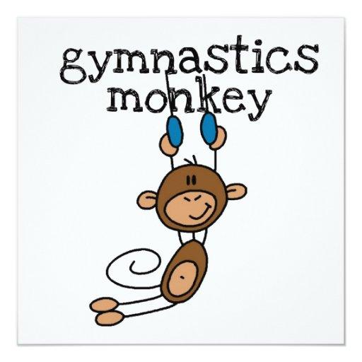 Gymnastics Monkey Invite