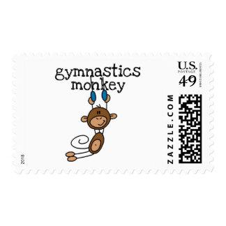Gymnastics Monkey Tshirts and Gifts Postage