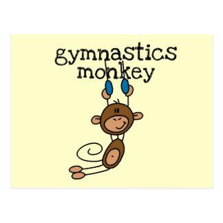 Gymnastics Monkey Tshirts and Gifts Postcard