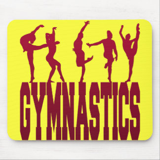 Gymnastics Mouse Pad