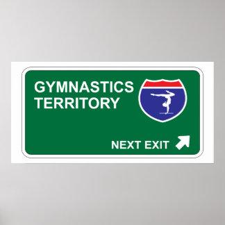 Gymnastics Next Exit Poster