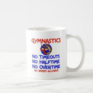 Gymnastics No Wimps Classic White Coffee Mug