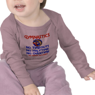 Gymnastics No Wimps Tee Shirt