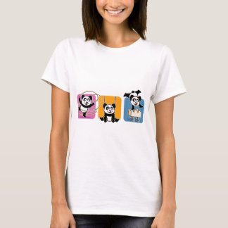Gymnastics Pandas T-Shirt