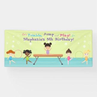 Gymnastics Party Banner