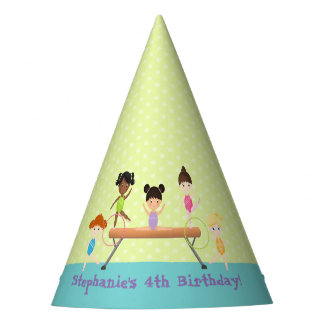 Gymnastics Party Party Hat