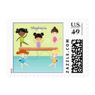 Gymnastics Party Postage