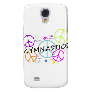 Gymnastics Peace Signs Galaxy S4 Case