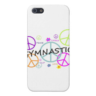 Gymnastics Peace Signs iPhone SE/5/5s Cover