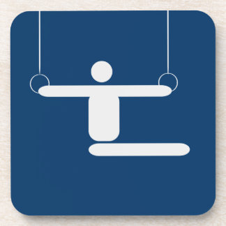 Gymnastics Pictogram Coaster