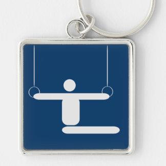 Gymnastics Pictogram Keychain