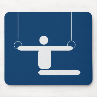 Gymnastics Pictogram Mouse Pad