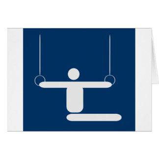 gymnastics_pictogram_Vector_Clipart SPORTS Card