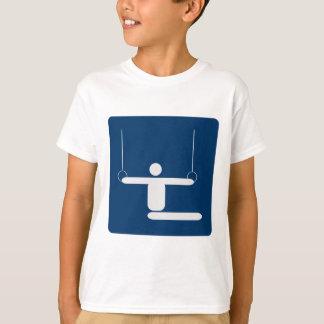 gymnastics_pictogram_Vector_Clipart SPORTS T-Shirt