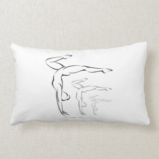 Gymnastics Throw Pillows