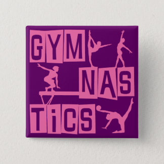 Gymnastics Pinback Button