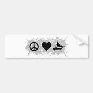 Gymnastics (Pommel horse) Bumper Sticker