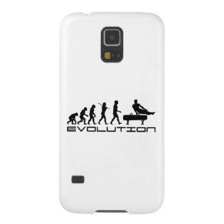 Gymnastics Pommel Horse Sport Evolution Art Galaxy S5 Cover