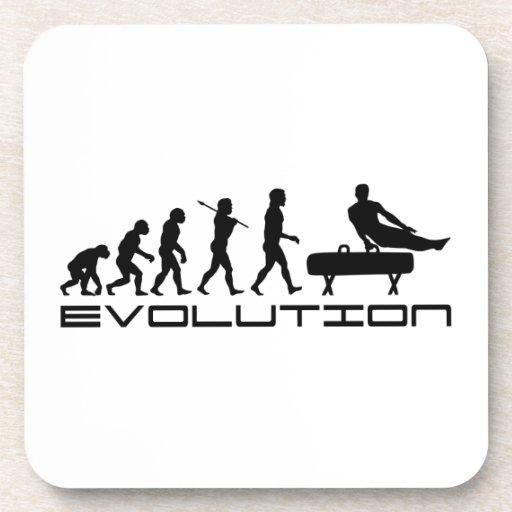 Gymnastics Pommel Horse Sport Evolution Art Drink Coasters