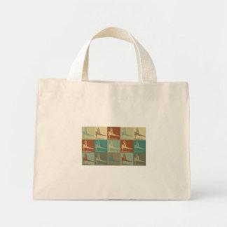 Gymnastics Pop Art Tote Bags