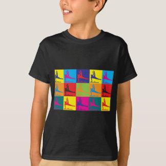Gymnastics Pop Art T-Shirt
