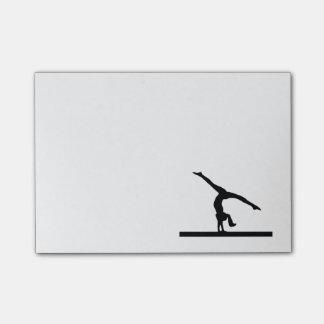 """""""Gymnastics"""" Post-it® Notes"""