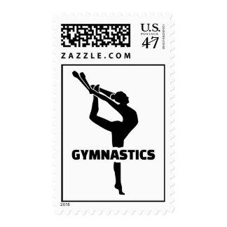 Gymnastics Postage