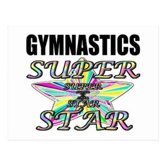 gymnastics postcards