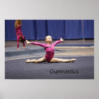 Gymnastics Print