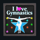 "GYMNASTICS PRINCESS JEWELRY BOX<br><div class=""desc"">This amazing artistic Gymnast will tumble, flip, and fly for this inspiring Gymnastics design on Tees, Apparel, Home Decor, Jewelry and Gifts. This Gymnast believes all things are possible and she will become an International Gymnastics Champion. This unique and uplifting Gymnastics gift is perfect for Birthdays, Holidays, or any occasion....</div>"
