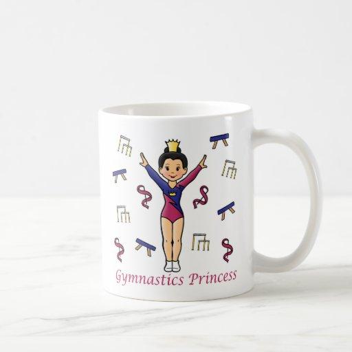 Gymnastics Princess Mugs