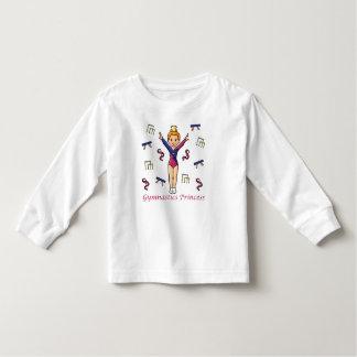 Gymnastics Princess Toddler T-shirt