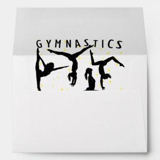 Gymnastics Reaching For The Stars Envelopes