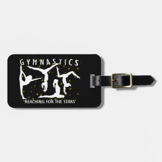 Gymnastics Reaching For The Stars Luggage Tag