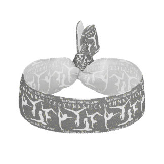 Gymnastics Reaching For The Stars Ribbon Hair Tie
