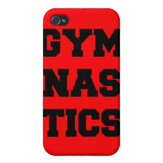 Gymnastics Red iPhone Case