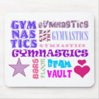 Gymnastics Repeating Mouse Pad