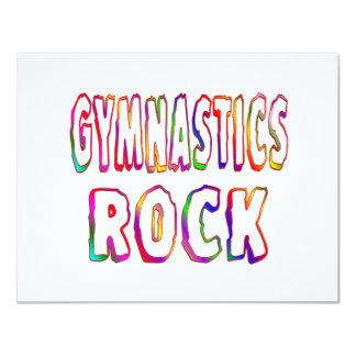 Gymnastics Rock Card