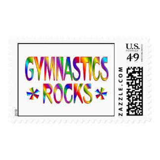 GYMNASTICS ROCKS POSTAGE