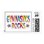 GYMNASTICS ROCKS POSTAGE STAMPS