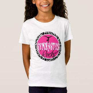 Gymnastics rocks tee shirt