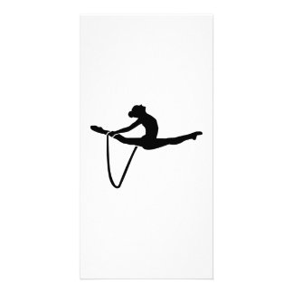 Gymnastics rope card