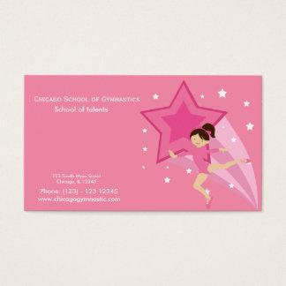 Gymnastics School Business Card