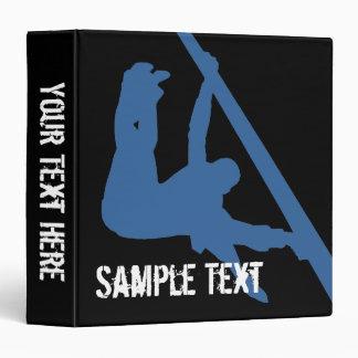 Gymnastics Silhouette Binder Vinyl Binder